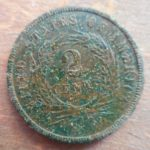 Reverse of really nice 1864 2 Cent coin
