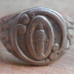 Really nice Virgin Mary silver ring