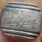 Very cool World War II  Philippines silver ring