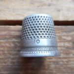 Sweet sterling silver thimble